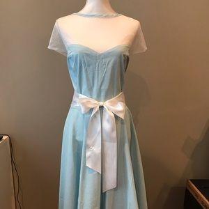 Hell Bunny Vixen Gingham Bow Dress 4XL